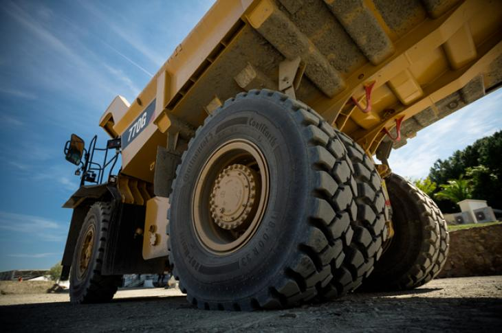 Continental RDT Master enables equipment managers to spec tires for greater productivity.