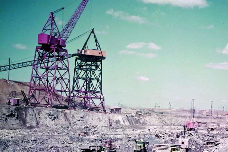 St. Lawrence Seaway's Construction Grandeur