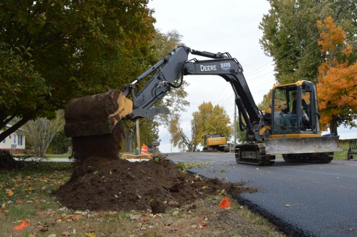 GPS gives Rees Construction a better handle on job site grades.