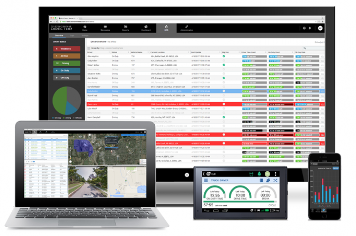 Reporting tools available from providers include dashboards, in-cab displays, and smartphone apps.