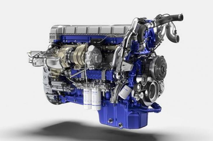 The next generation Turbo Compound engine from Volvo Trucks.