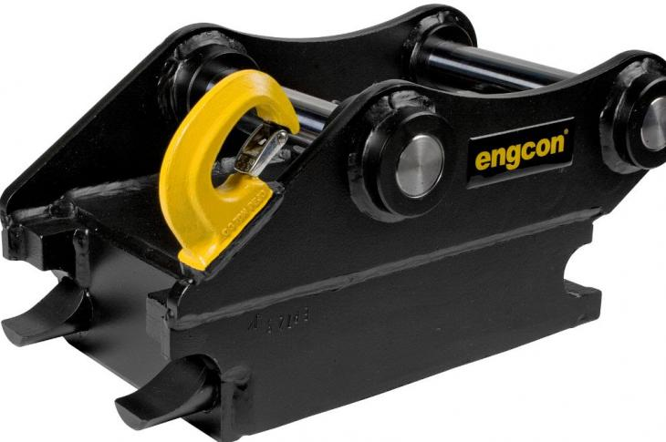 Engcon is switching to its safe, proprietary quick hitch, and will no longer manufacture the conventional S-type quick hitches.