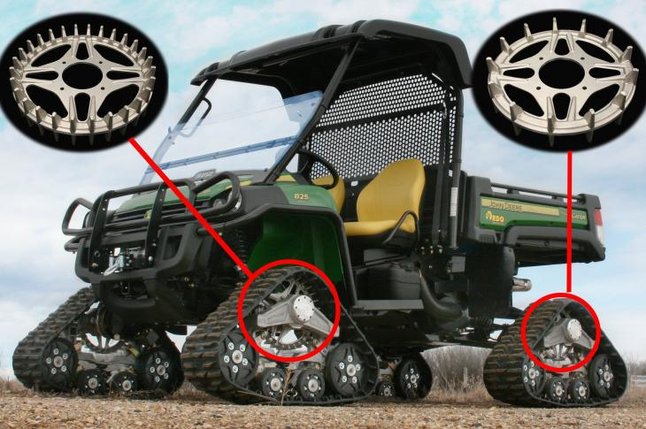 Tracks For Over Skid-Steer Wheels | Construction Equipment
