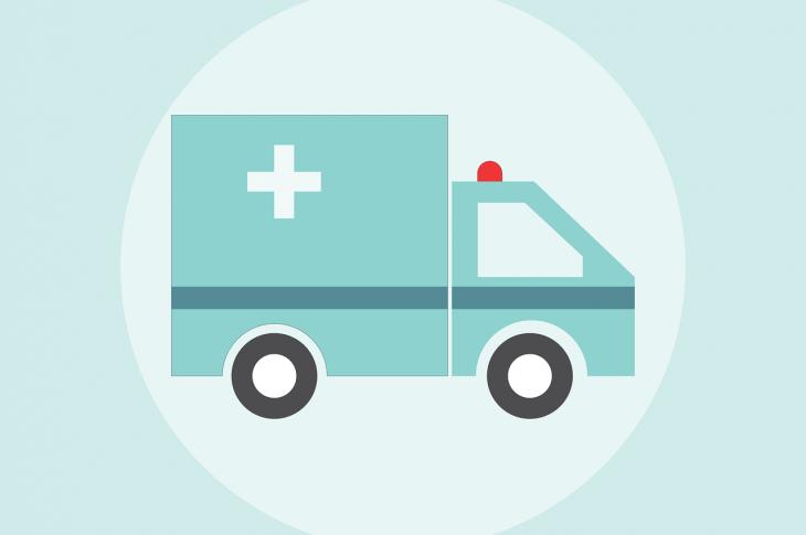 Ambulance graphic.