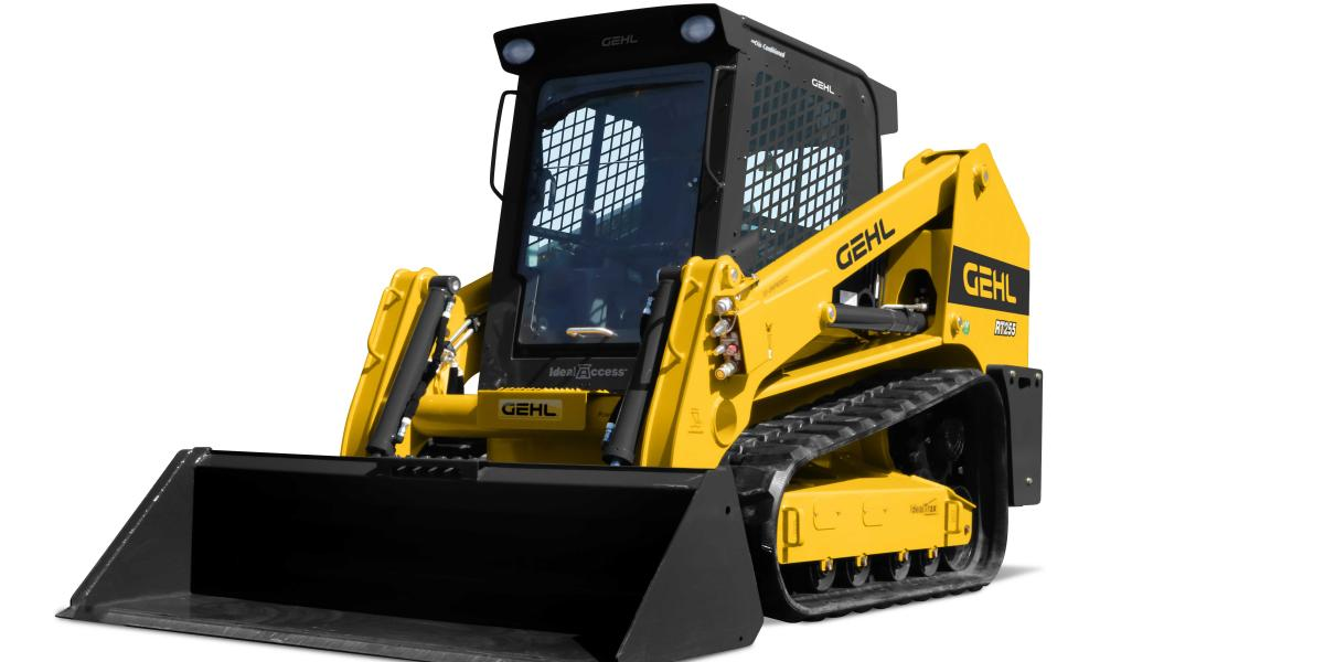 Gehl RT 255 Pilot Series CTL has a operating capacity of 2,550 pounds