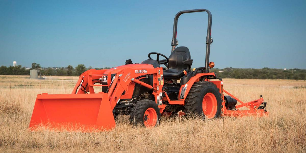 Kubota B01 Series of compact tractors has been launched