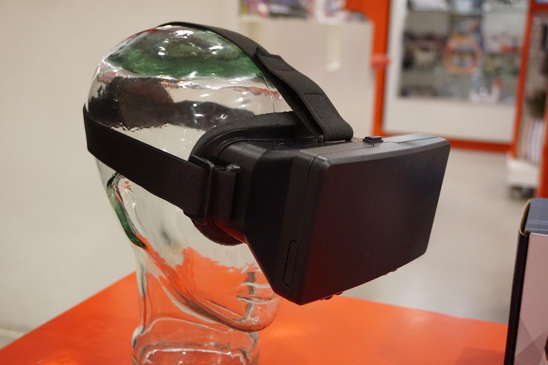 VR goggles.