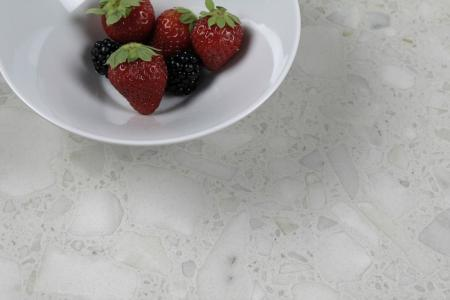 Neolith Fusion Collection with Terrazzo-style effect