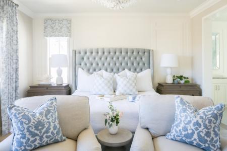 Master Suite designed by Kelsey Roberts
