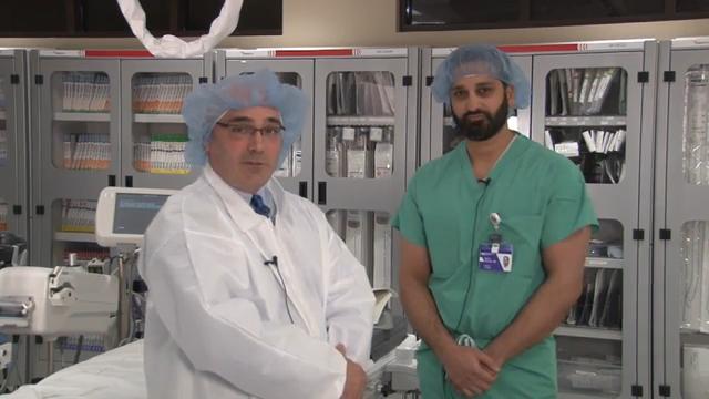 VIDEO: Cath Lab Tour at Northwestern Medicine's Central