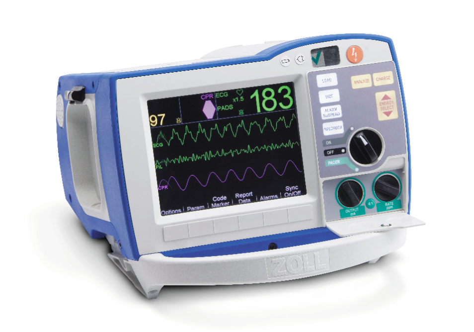 New Defibrillator-Monitor Technology Offers More Data