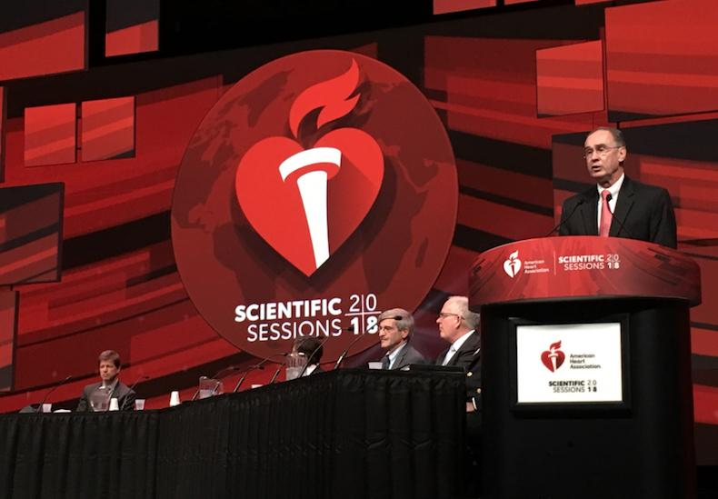 The American Heart Association (AHA) 2018 meeting news was the most popular content in cardiology, cardiac technology in November 2018