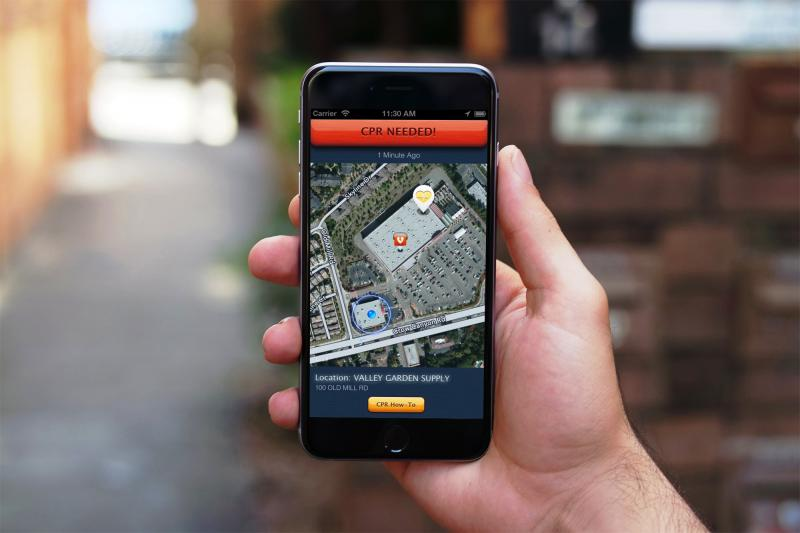 PulsePoint Respond app, new CPR guidelines, sudden cardiac arrest, social media