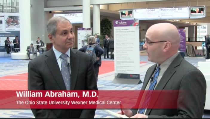 William T. Abraham, M.D., Joins V-Wave as Chief Medical Officer
