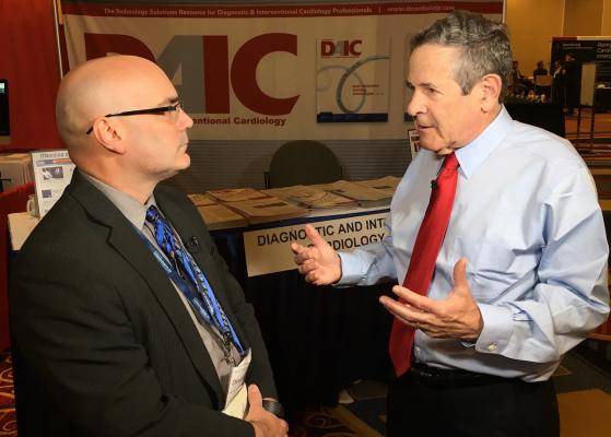 Arthur Agatston, M.D., the name-sake of the Agatston score, discusses the history of CT calcium scoring at SCCT 2019 during a video interview with DAIC. #SCCT19