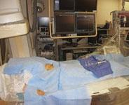 radial artery access, transradial drape for procedures in the cath lab