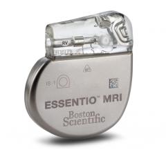 The Boston Scientific Essentio MRI-safe pacemaker.