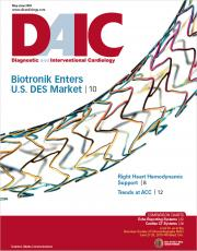 Diagnostic and Interventional Cardiology magazine, DAIC magazine. Dave Fornell is the editor.