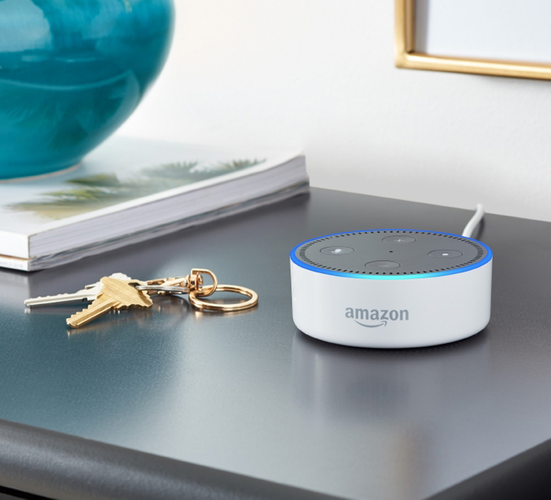 Is the Amazon Echo Dot connected technology or smart technology?