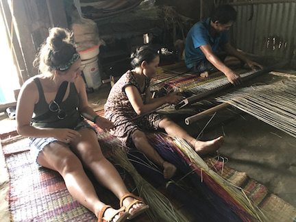 Vietnam mat weaving