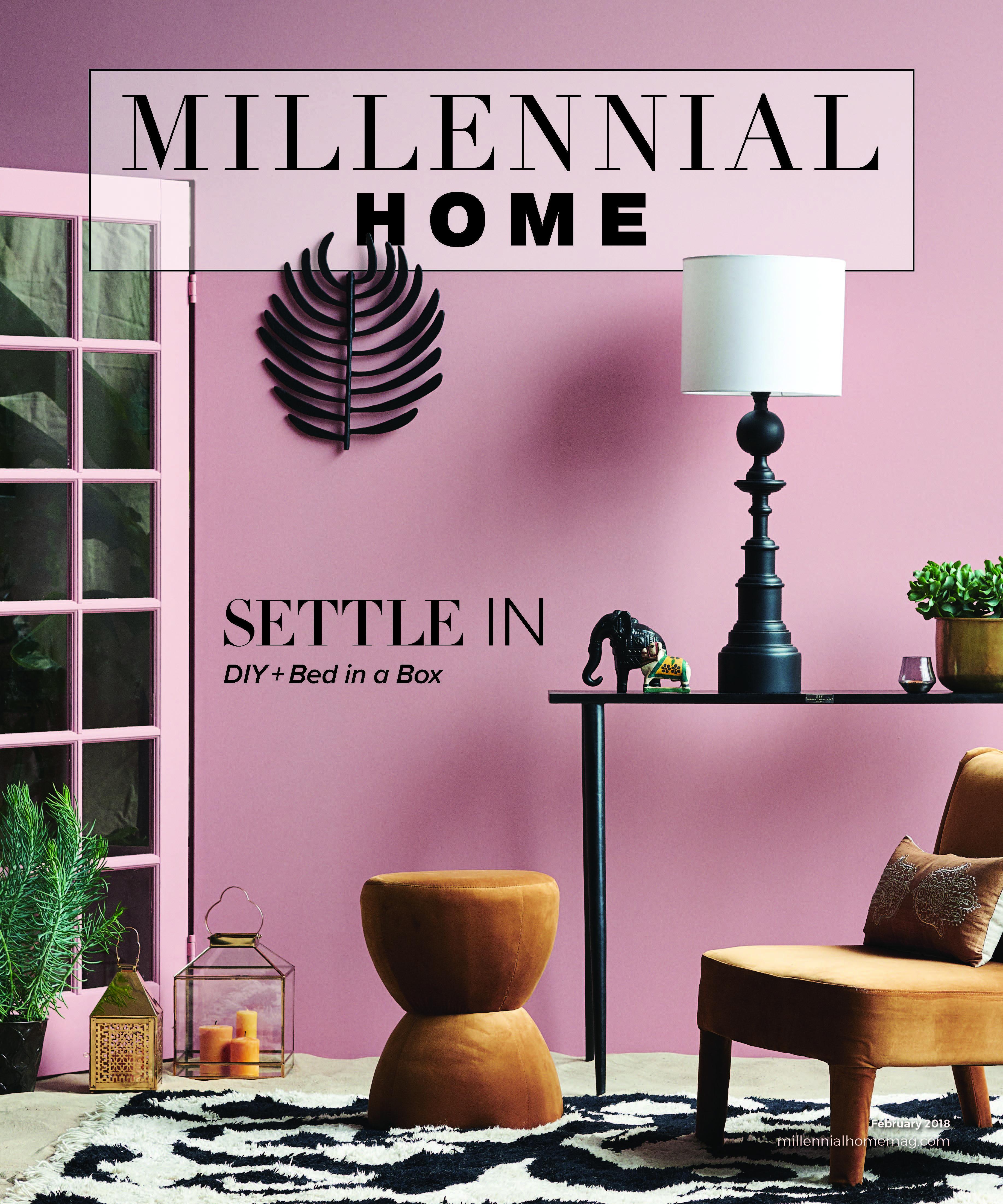 Millennial Home February 2018 pink