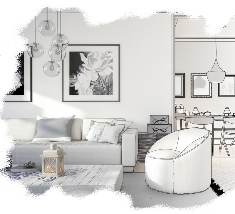 AdobeStock Living room