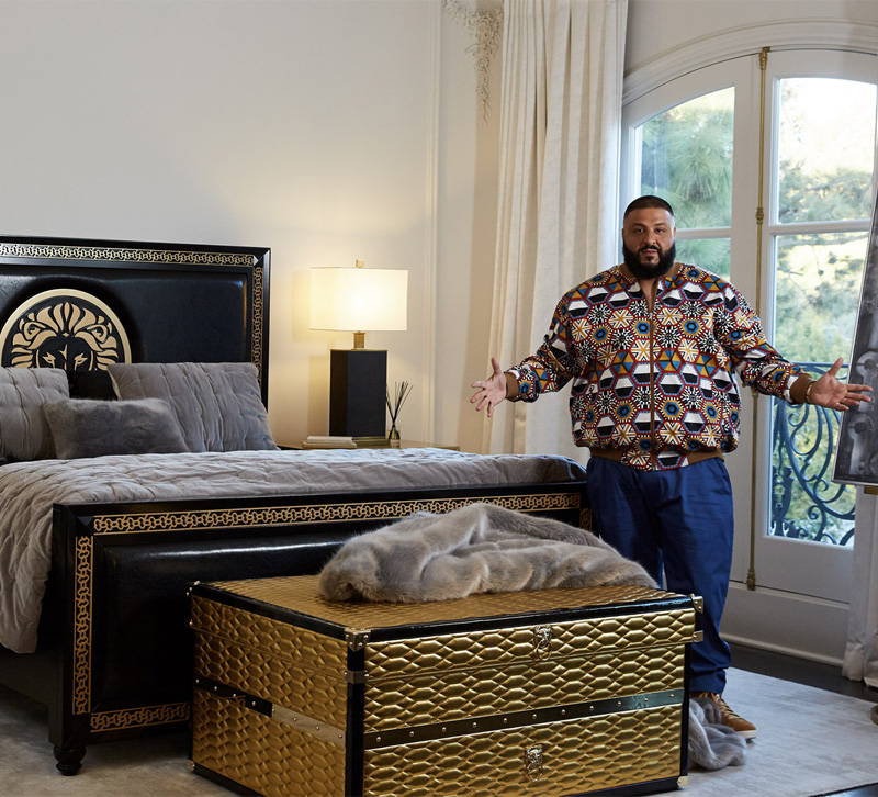 Global Furniture Usa Launches Collection With Dj Khaled Furniture