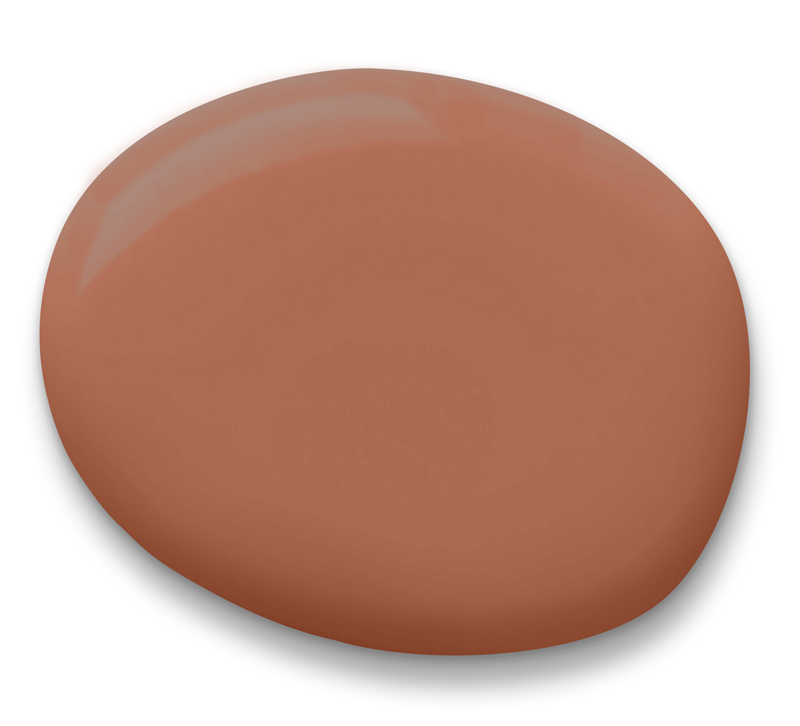 Cavern Clay swatch from Sherwin Williams