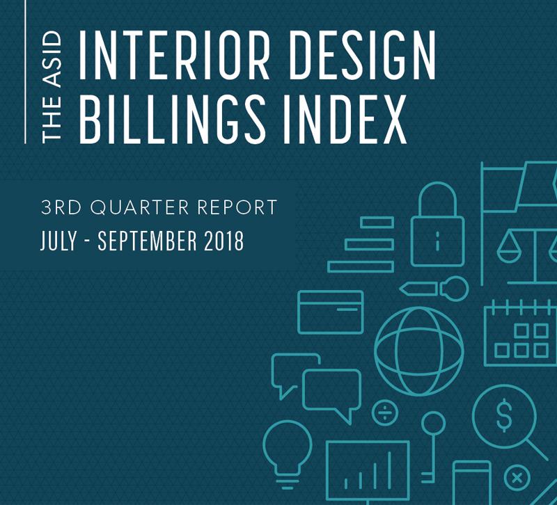 ASID third quarter billing and index report logo