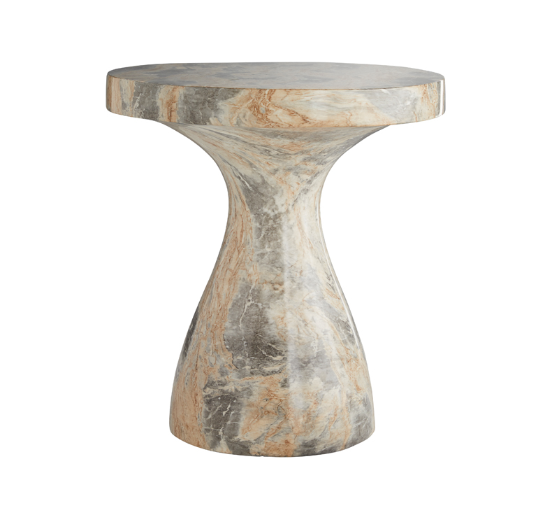 Serafina Accent Table in marble from Arteriors Home