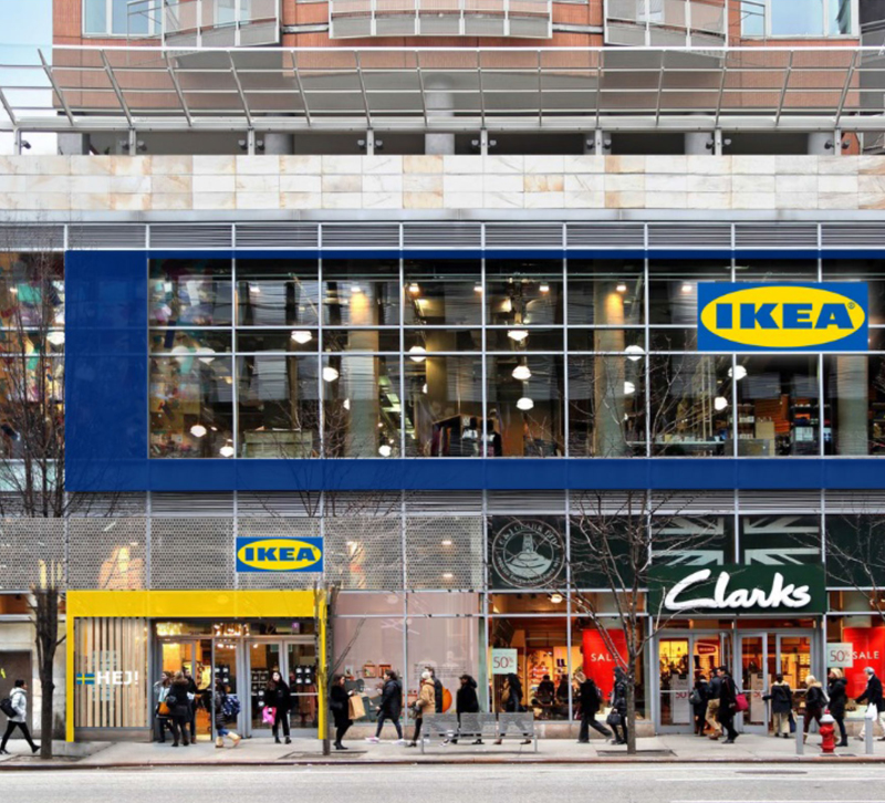 Mock-up of the new IKEA Planning Studio in New York City