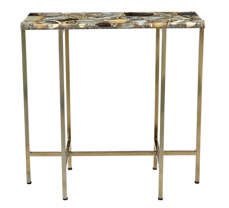 Agate Accent Table Furniture Lighting Decor