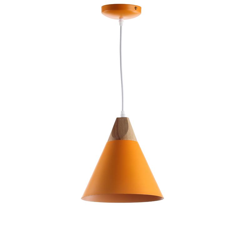 Cila mustard, cone-shaped pendant from Safavieh