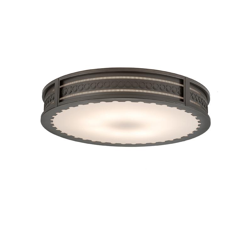2nd Ave Lighting Cilindro Circleline flushmount
