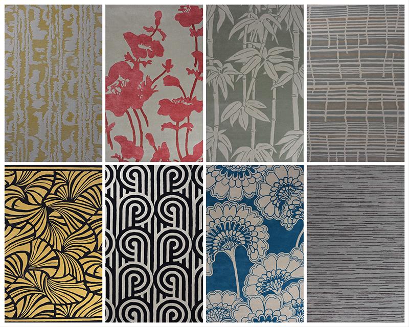 florence broadhurst rug collection
