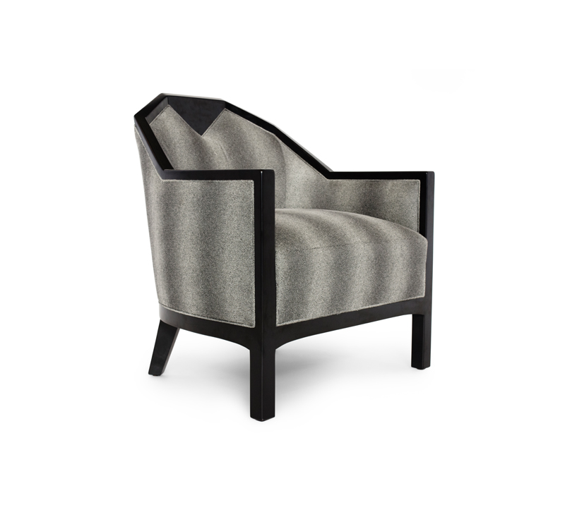 Badgley Mischka Bel Air accent chair