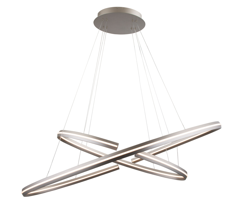 WAC Lighting dewLED Orbit chandelier