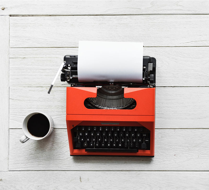 rawpixel typewriter