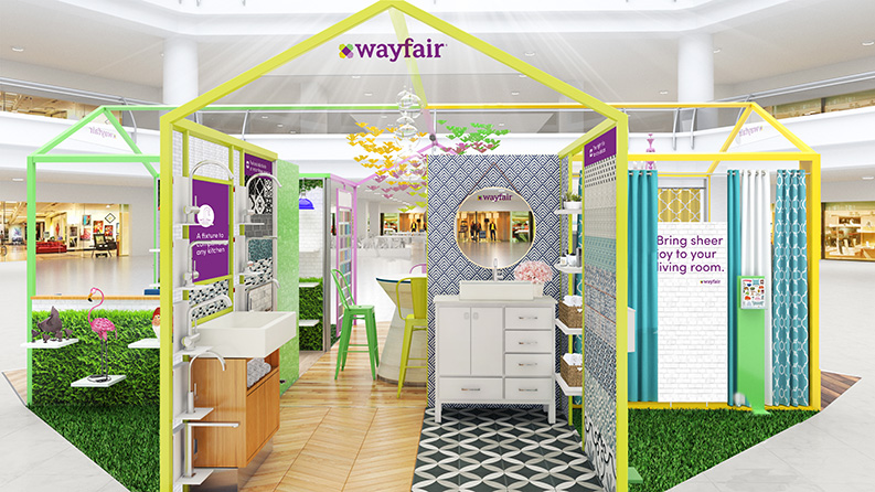 Wayfair To Open Home Furnishings Pop Up Shops Furniture