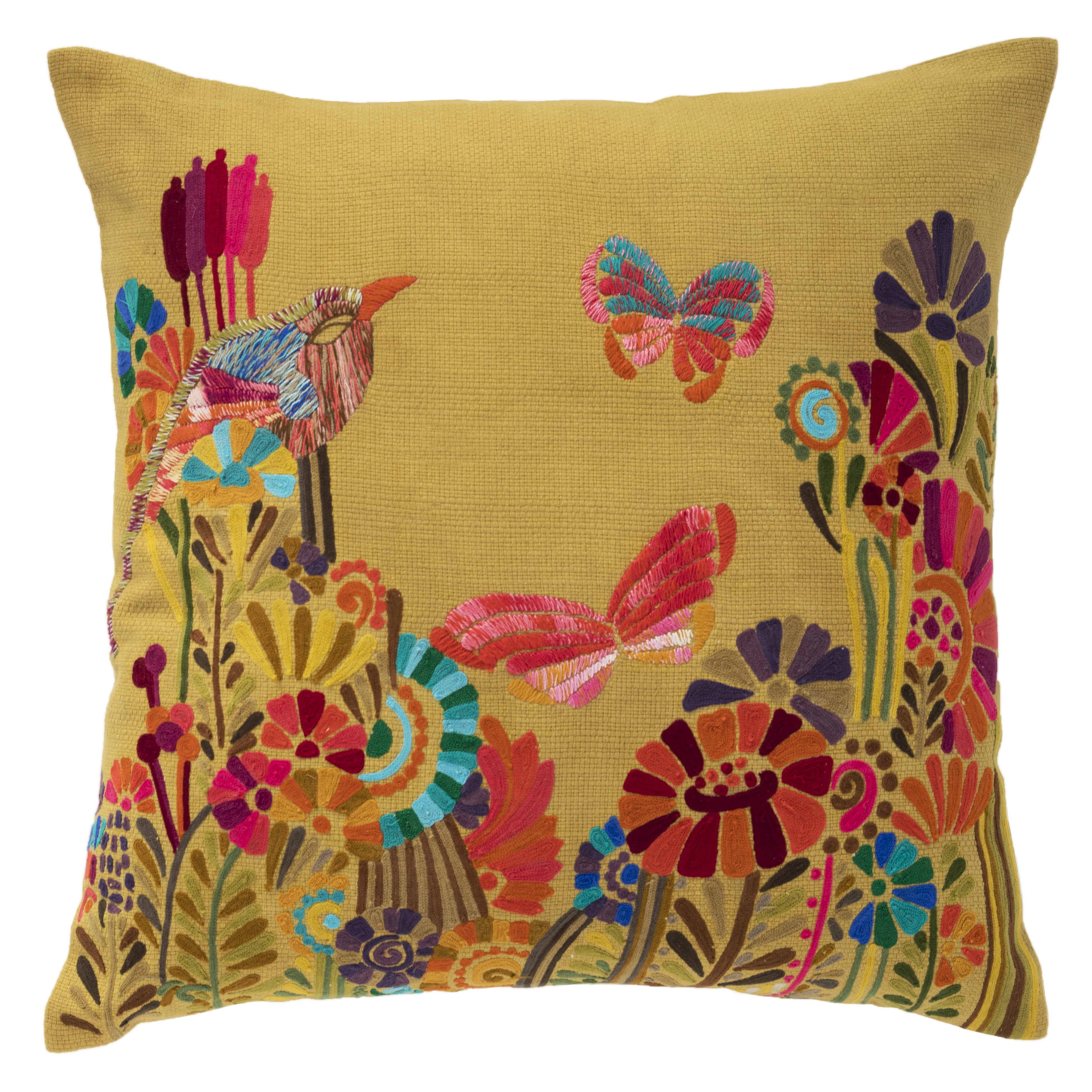 Annie Selke Botanica pillow
