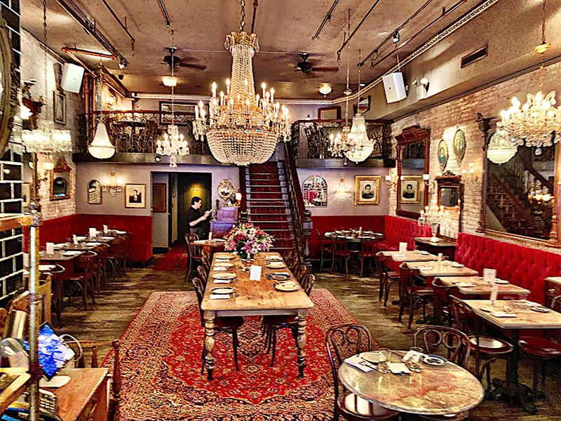 Antique Garage Restaurant with Resimercial Desgn