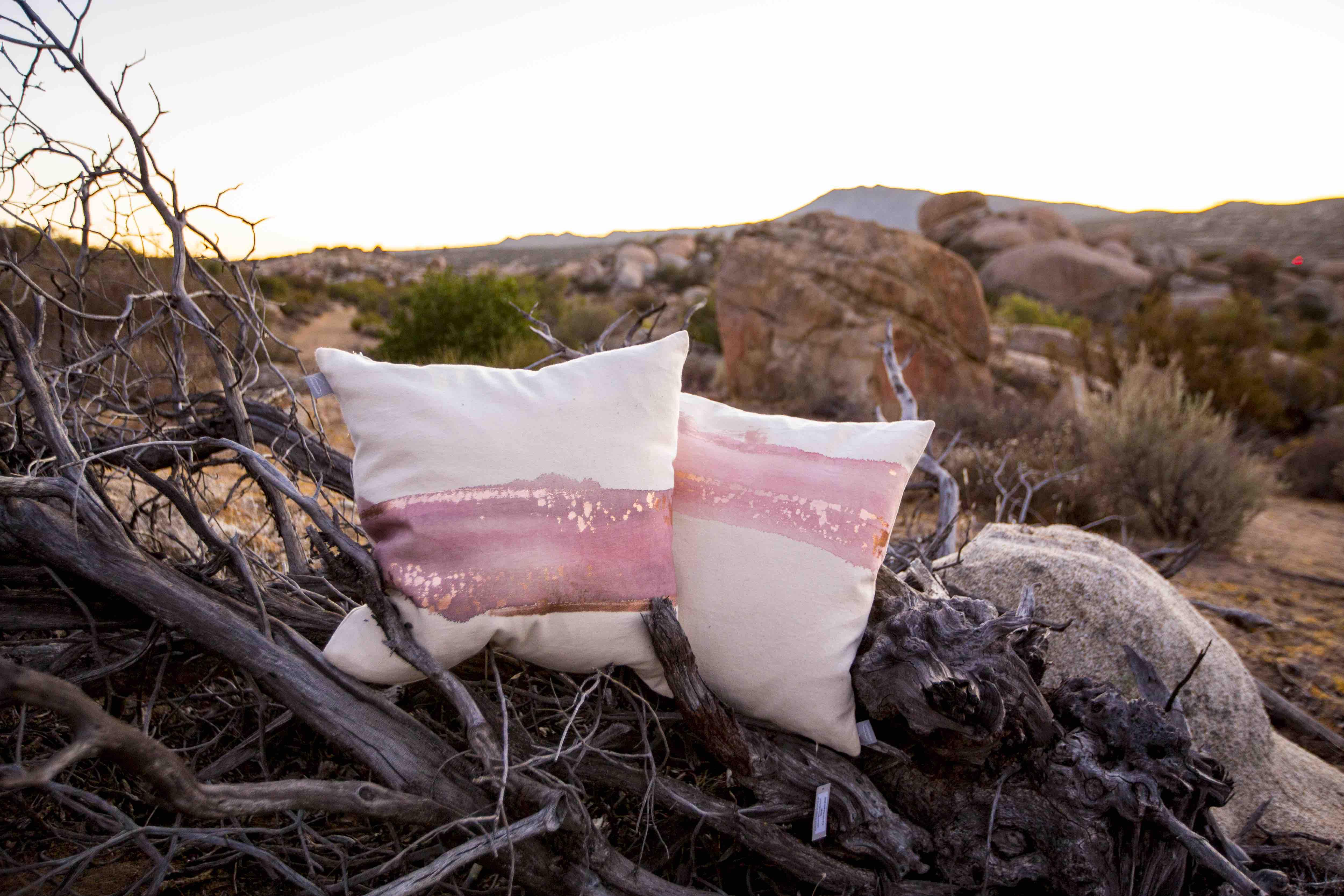 Aviva Stanoff Mod Art Collection Horizon pillow