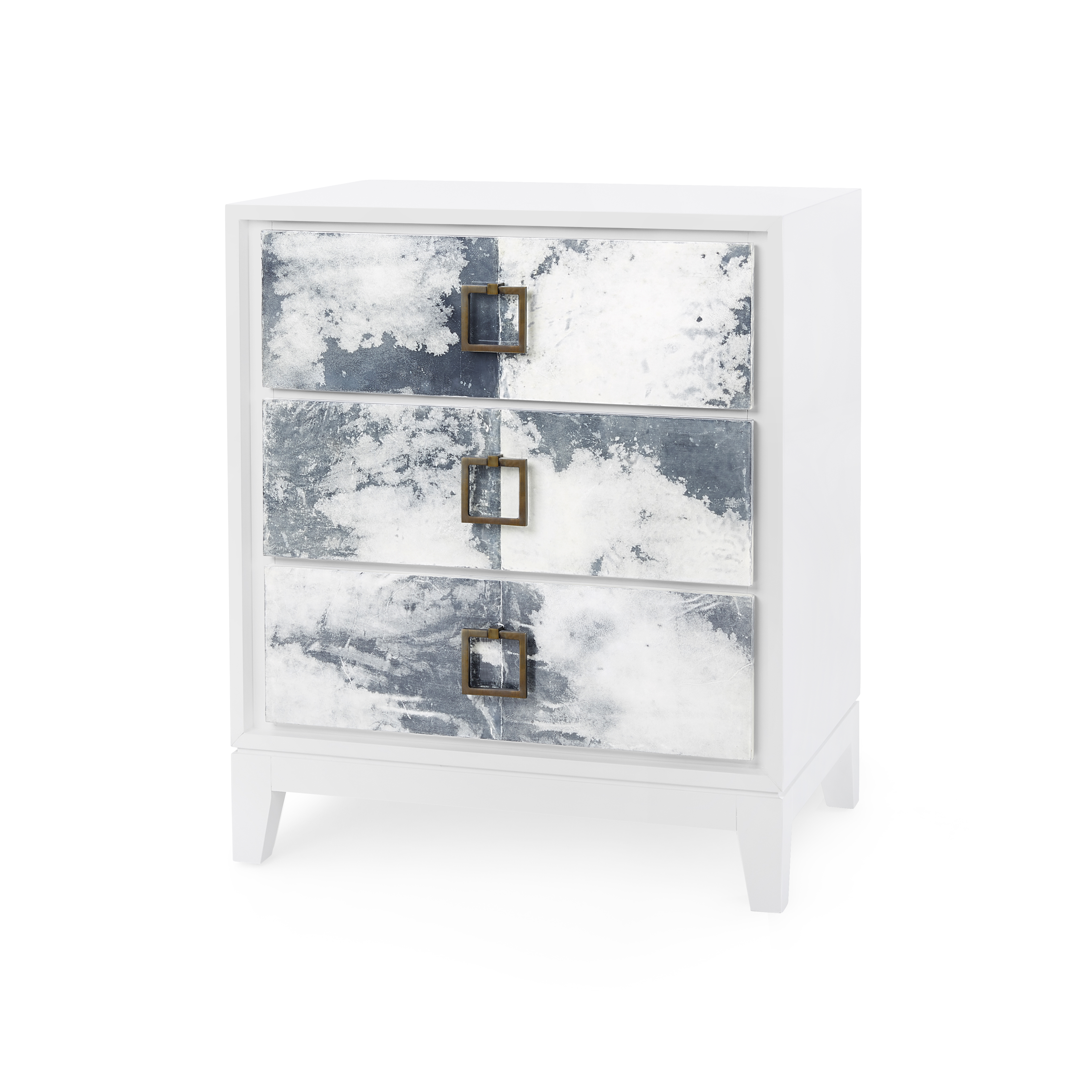 Bungalow 5 Phillips three drawer side table
