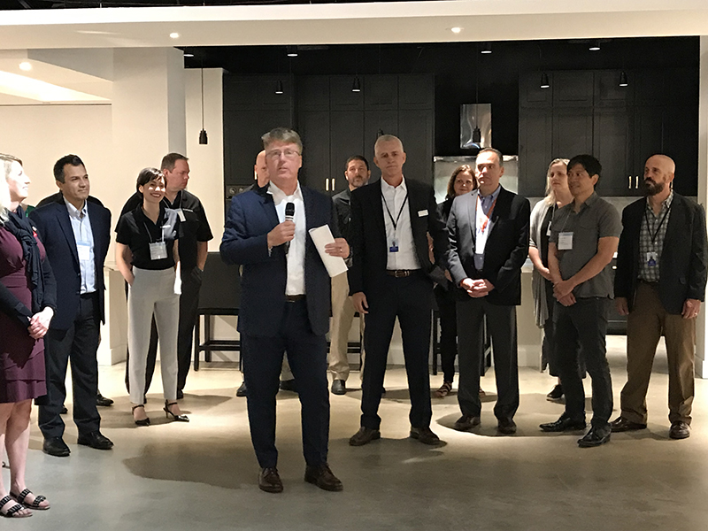 Opening of the Smart Home showroom at Dallas Market Center