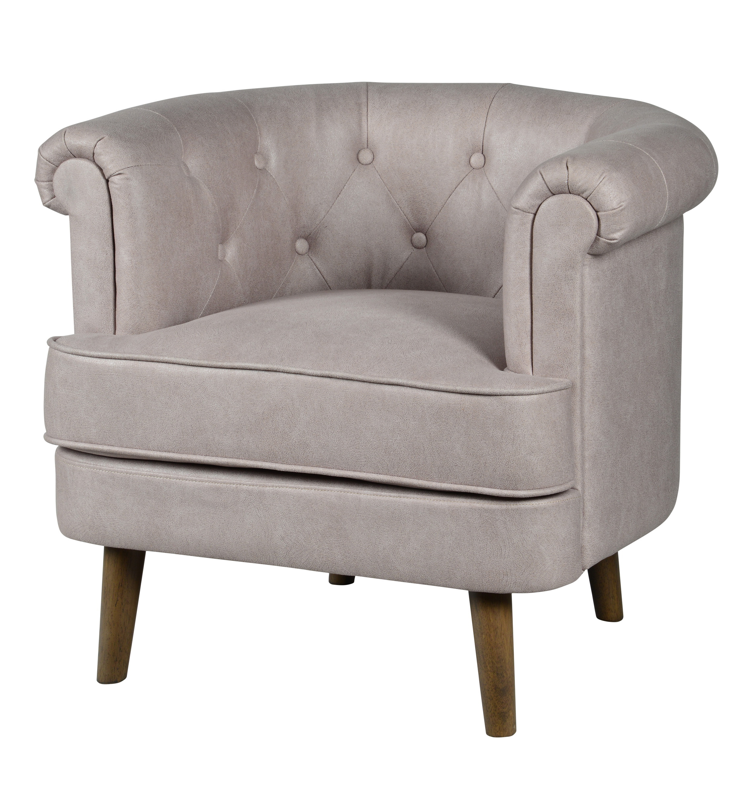 Forty West Meghan tufted chair