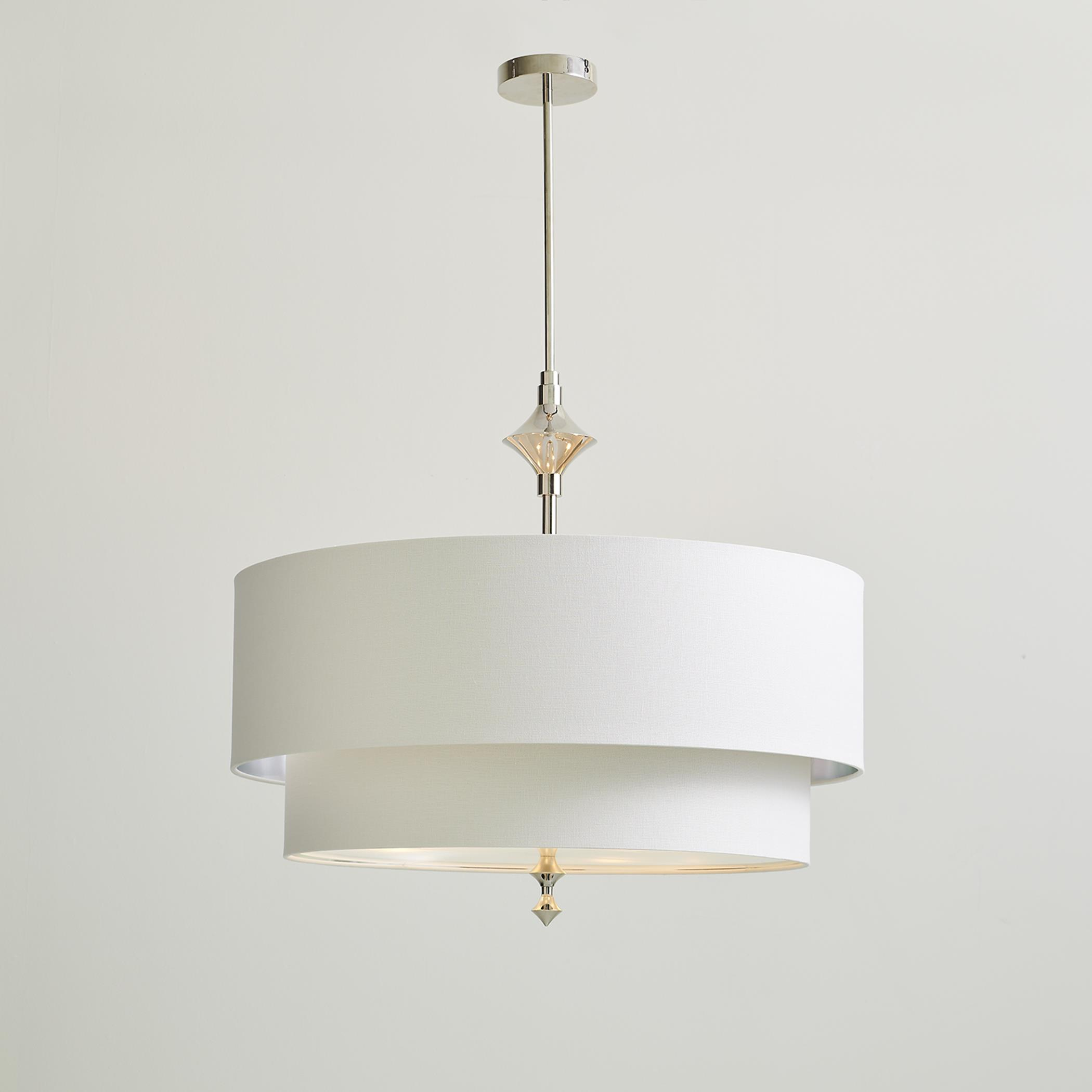 Global Views two tier chandelier