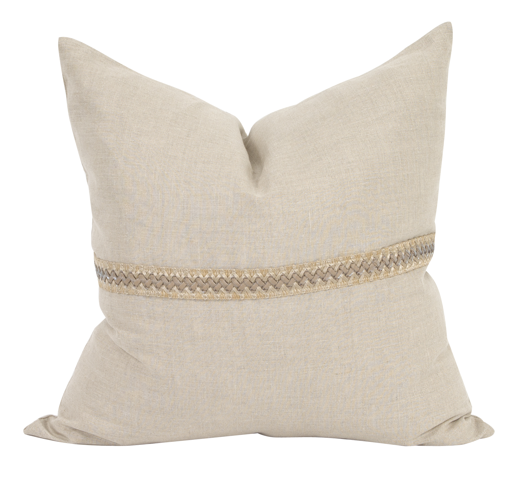 Howard Elliott Linen slub pillow