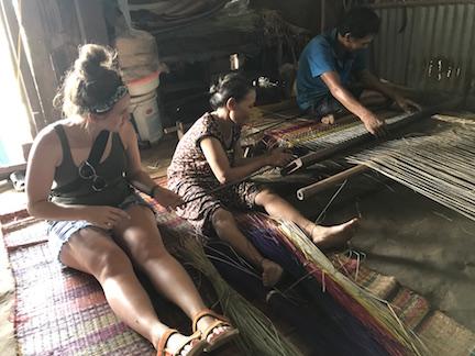 Mat weaving, Vietnam