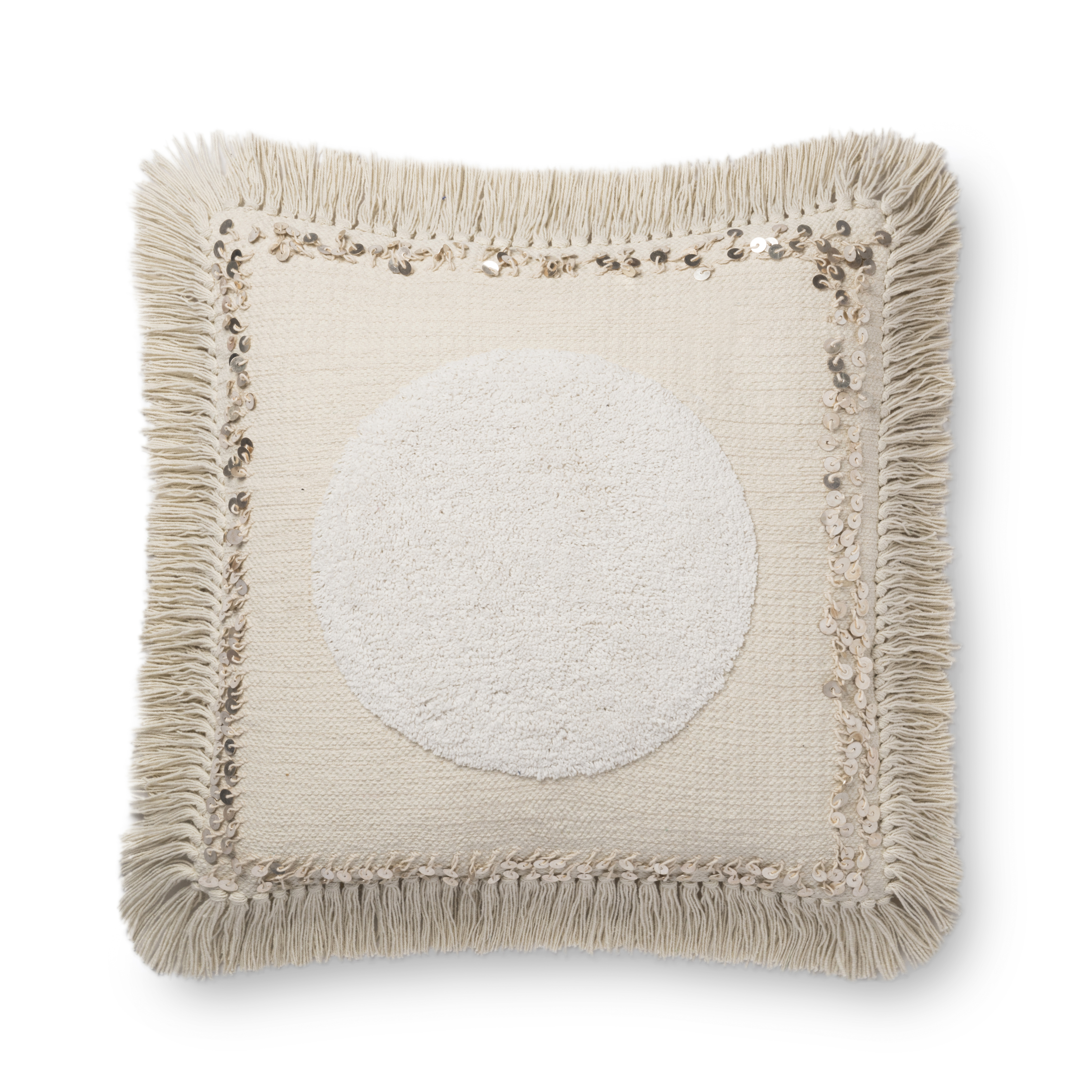 Loloi cotton pillow