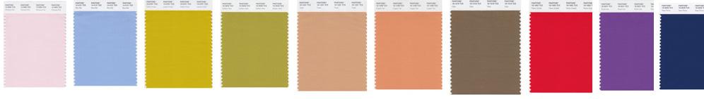 Pantone London palette